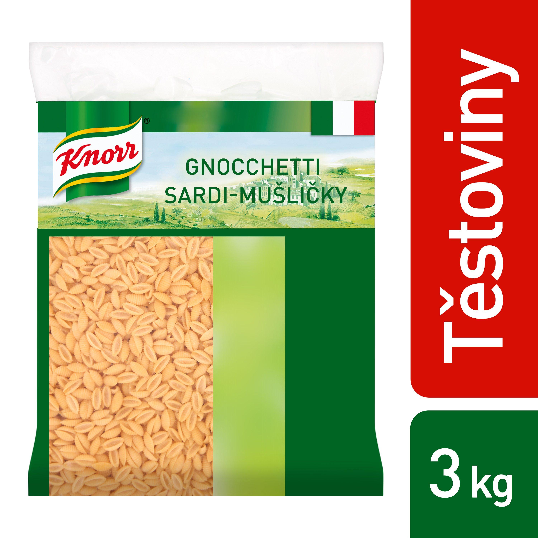 Knorr Gnoccetti Sardi - Mušličky 3 kg -