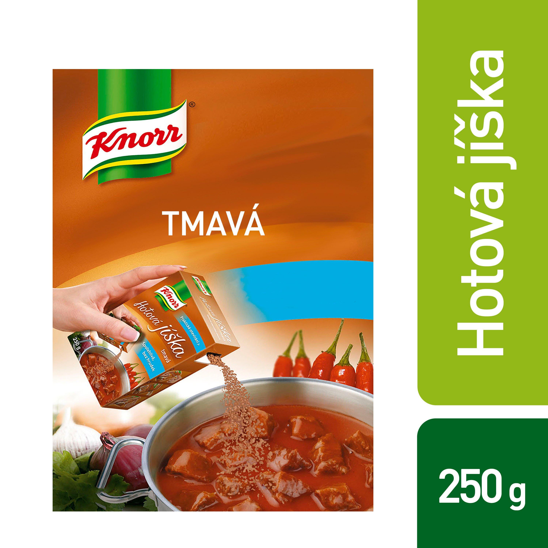 Knorr Hotová jíška tmavá 0,25 kg -
