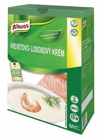 Knorr Krevetovo-lososový krém 1,8 kg