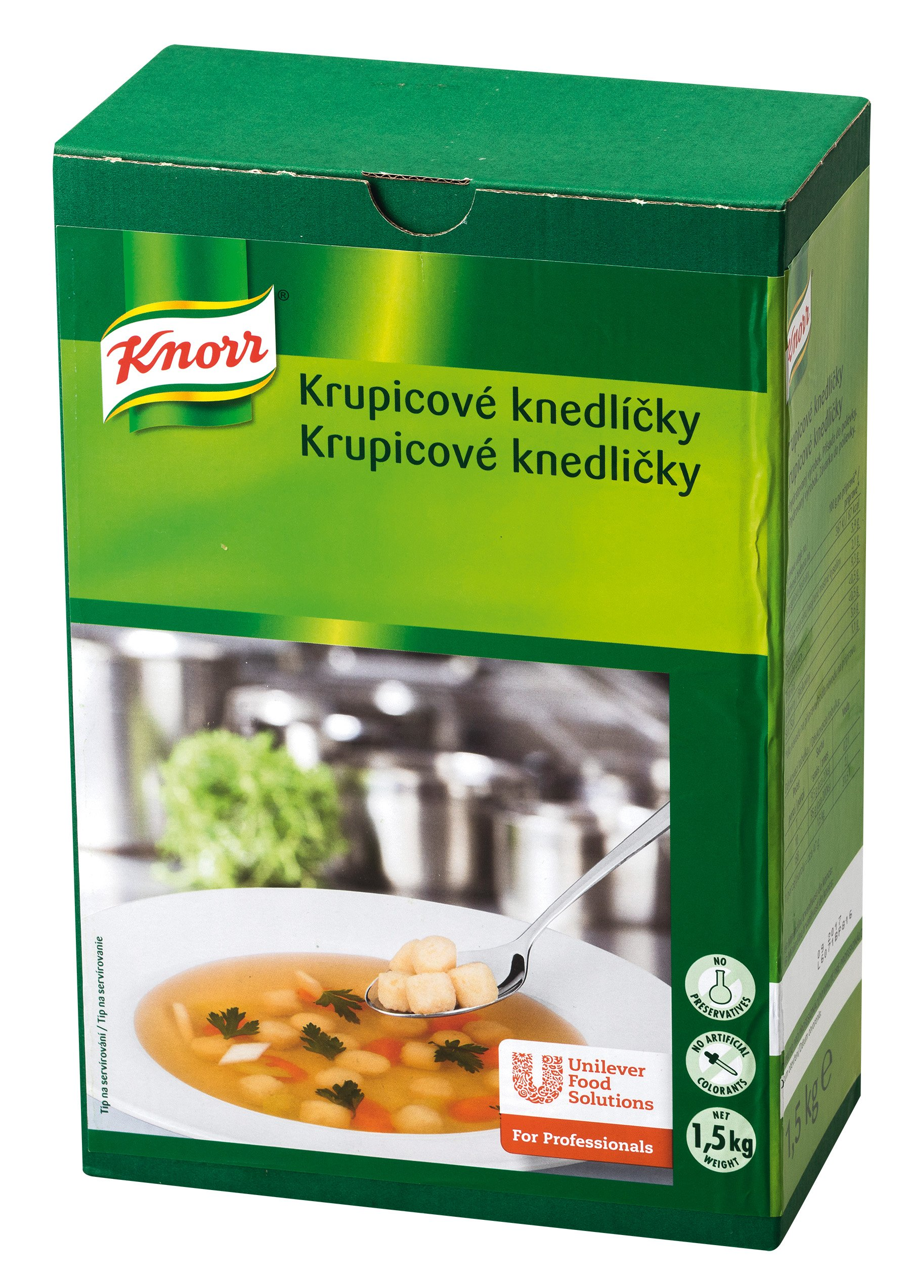 Knorr Krupicové knedlíčky 1,5 kg -