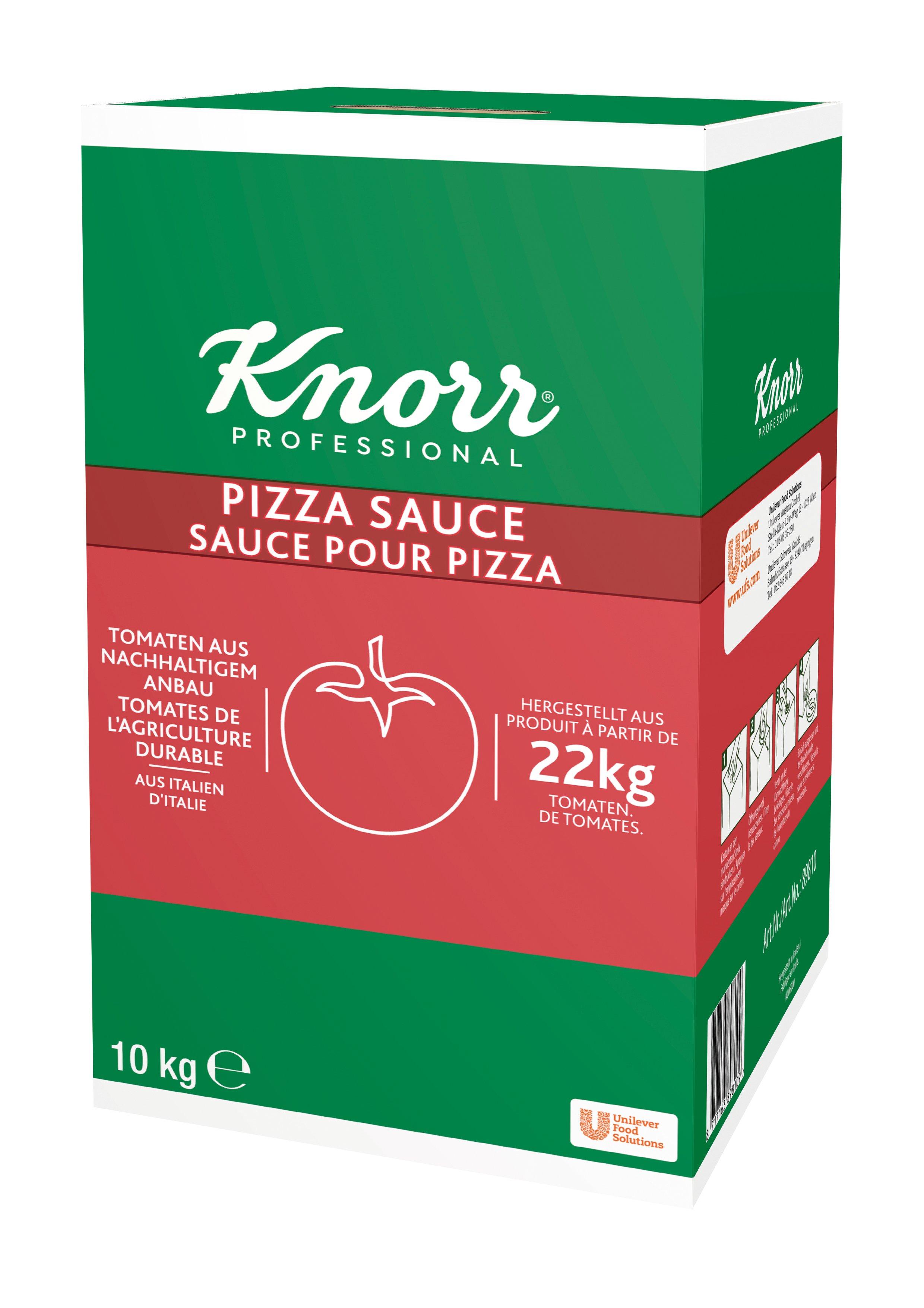 KNORR Omáčka na pizzu 10 kg -