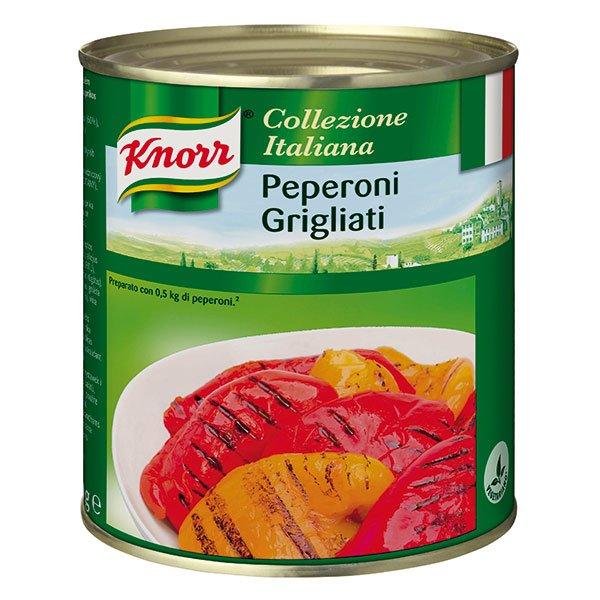 Knorr Peperoni Grigliati - grilovaná paprika 0,75 kg