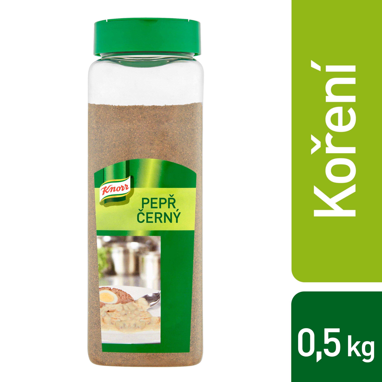 Knorr Pepř černý mletý 0,5 kg -