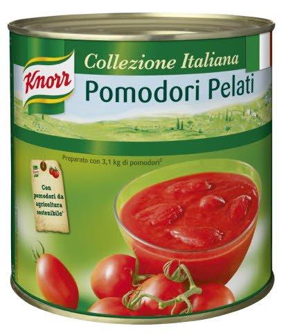 Knorr Pomodori Pelati - celá loupaná rajčata 2,5 kg