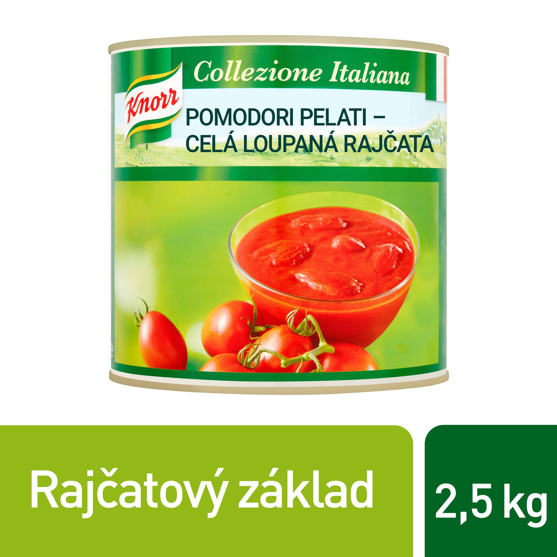 Knorr Pomodori Pelati - celá loupaná rajčata 2,5 kg -