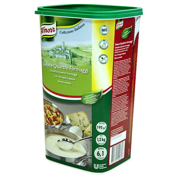 Knorr Quattro Formaggi 1,2 kg -