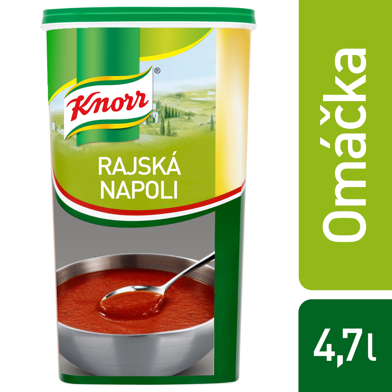 Knorr Rajská omáčka Napoli 0,9 kg -