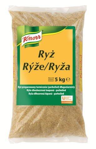 Knorr Rýže dlouhozrnná 5 kg