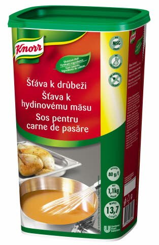 Knorr Šťáva k drůbežímu masu 1,1 kg