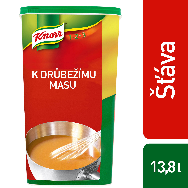 Knorr Šťáva k drůbežímu masu 1,1 kg -