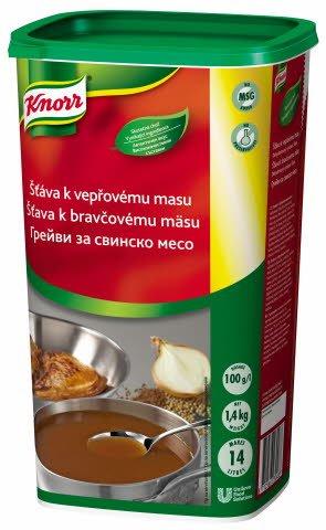 Knorr Šťáva k vepřovému masu 1,4 kg