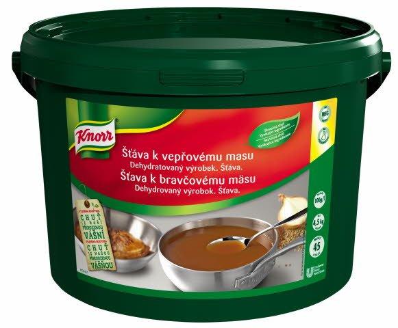 Knorr Šťáva k vepřovému masu 4,5 kg
