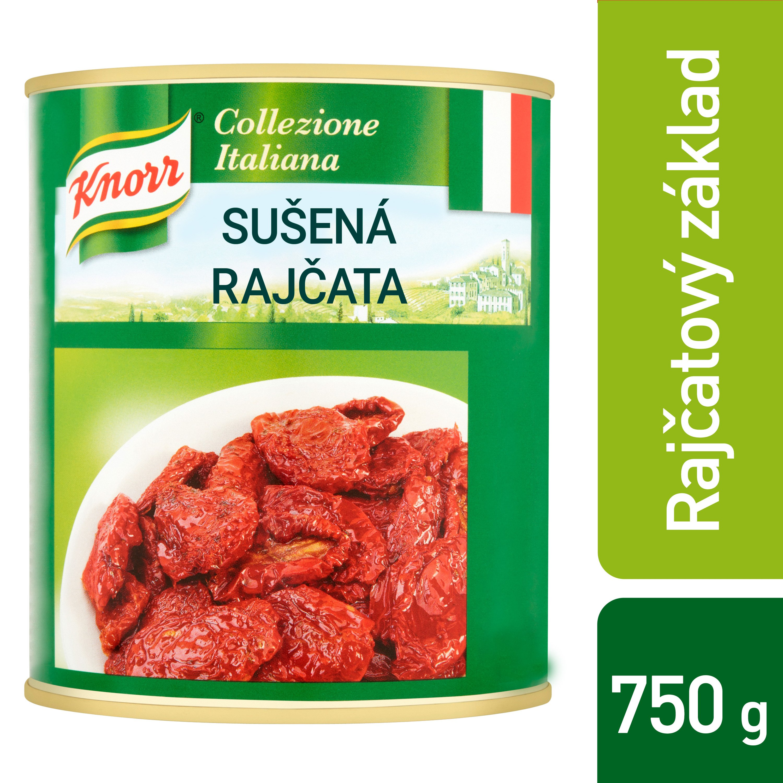 Knorr Sušená rajčata v oleji 0,75 kg -