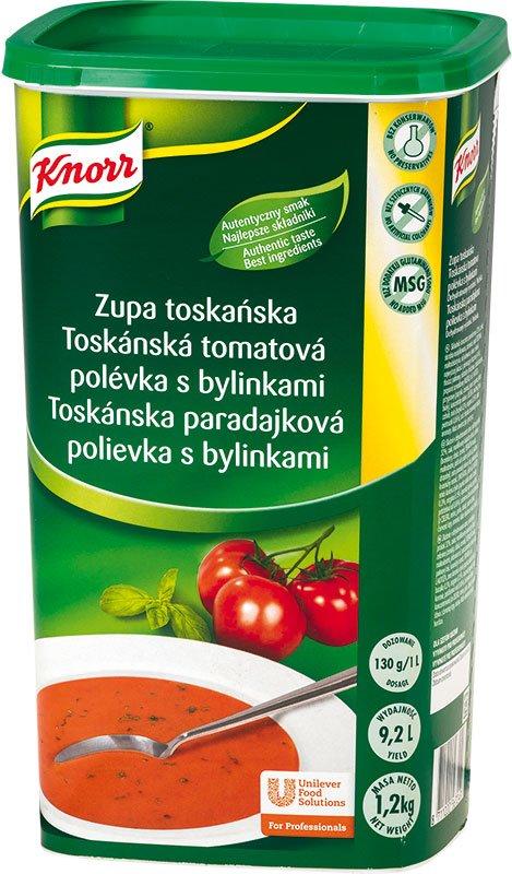 Knorr Toskánská tomatová polévka s bylinkami 1,2 kg