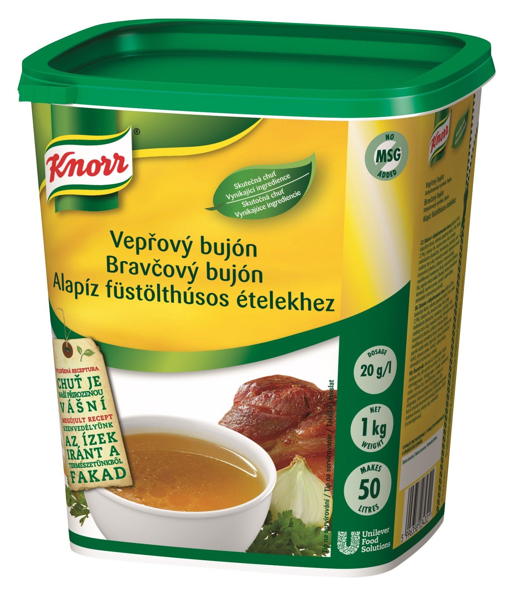 Knorr Vepřový bujón s vůní uzeného 1 kg