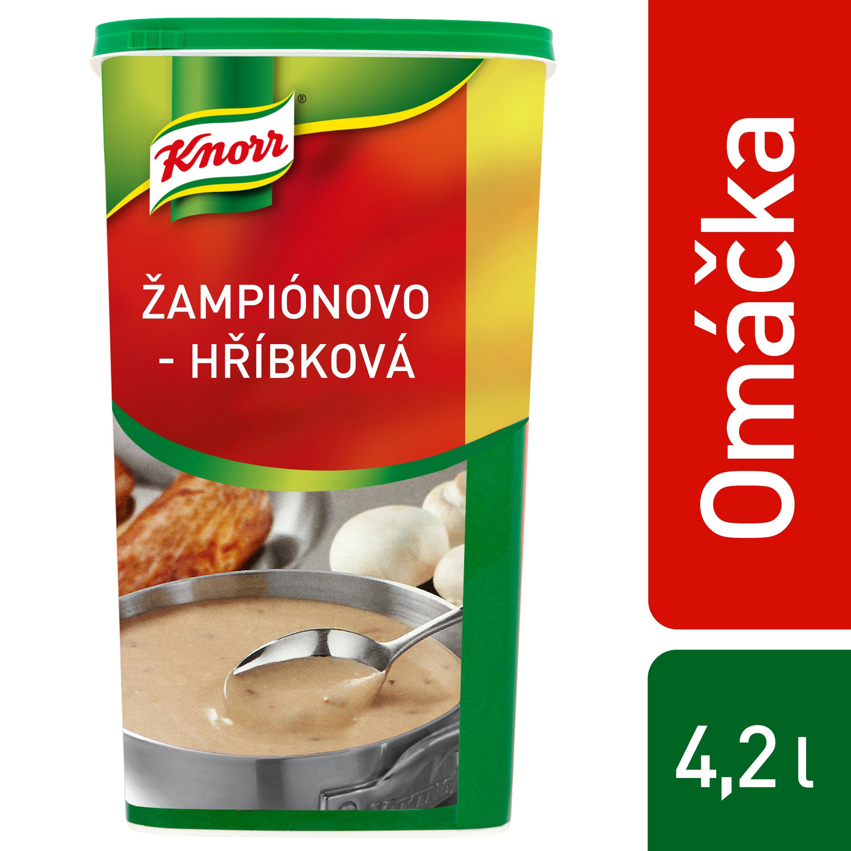 Knorr Žampionovo-hříbková omáčka 1kg