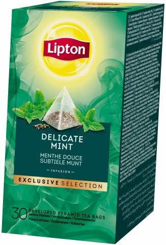 Lipton Delicate Mint Mátový čaj 30 sáčků
