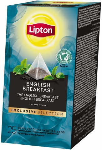 Lipton English Breakfast 25 sáčků