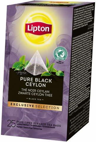 Lipton Pure Black Ceylon 25 sáčků