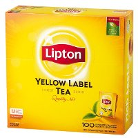 Lipton Yellow Label 100 porcí