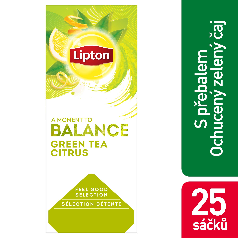 Lipton Zelený citrusy 1,3 g -