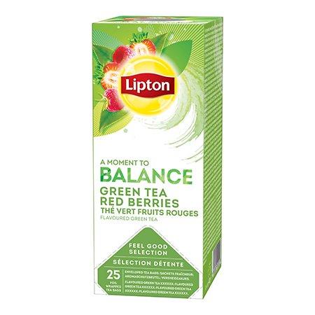 Lipton Zelený s kousky malin a jahod 1,4 g