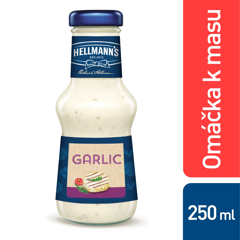 Omáčka k masu Česneková 250 ml -