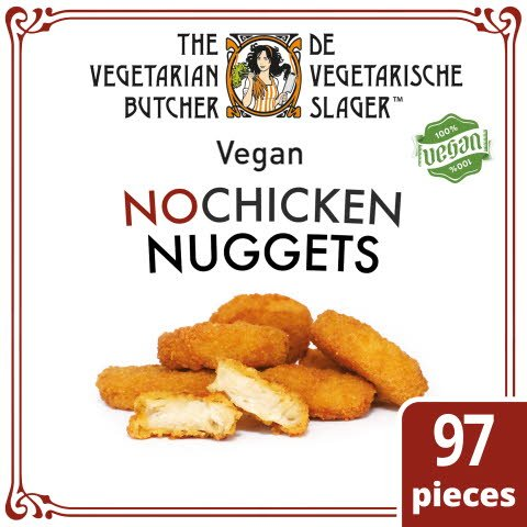 The Vegetarian Butcher NoChicken Nuggets 1,75KG -