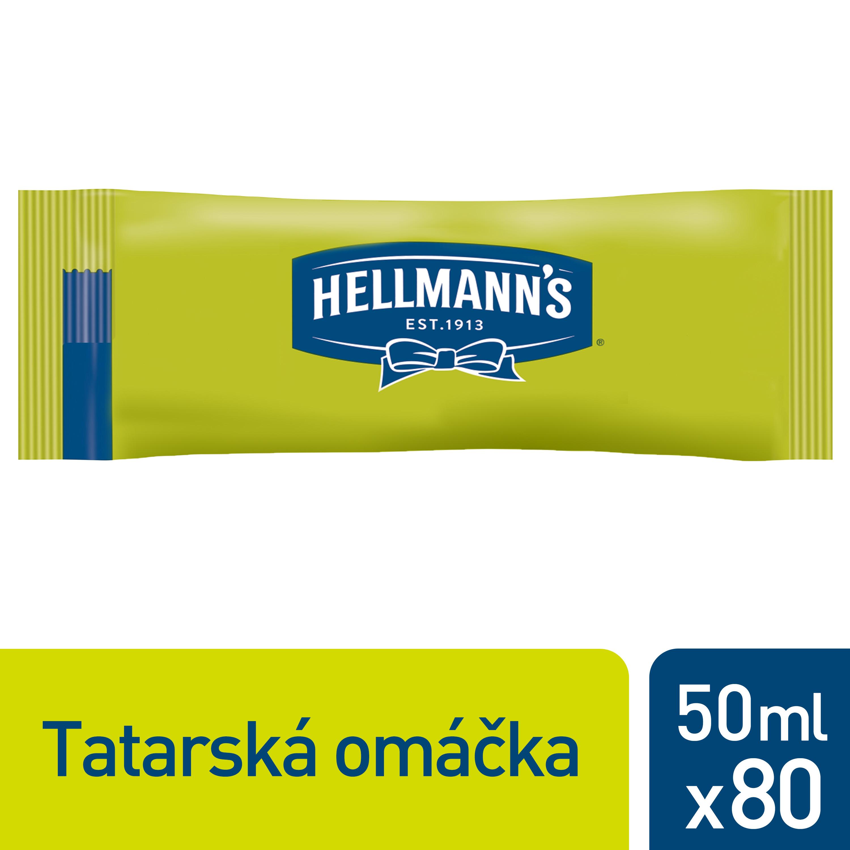 Hellmann's Tatarská omáčka porcovaná 50 ml - Velmi oblíbená tatarská omáčka.