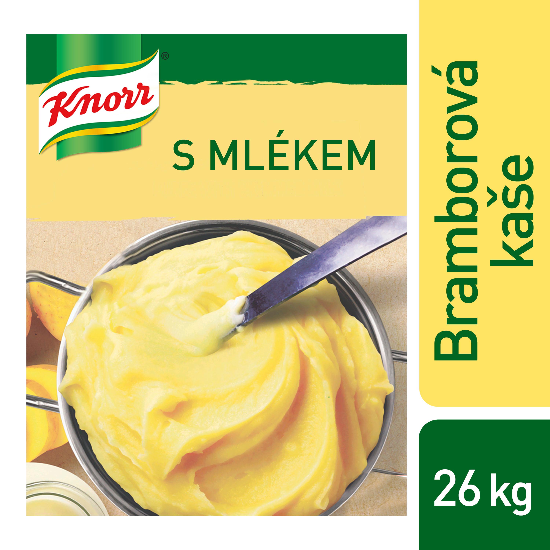 Knorr Bramborová kaše s mlékem 4 kg - Vysoce kvalitní bramborová kaše za pár minut.