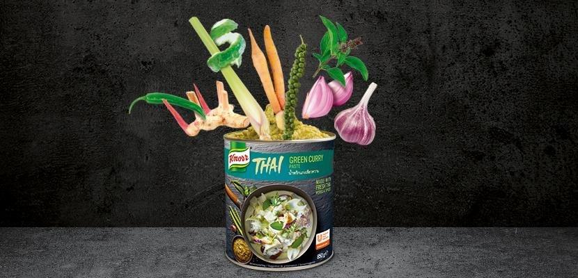 Knorr Červená kari pasta 850 g - Přidejte Asii do vašeho menu