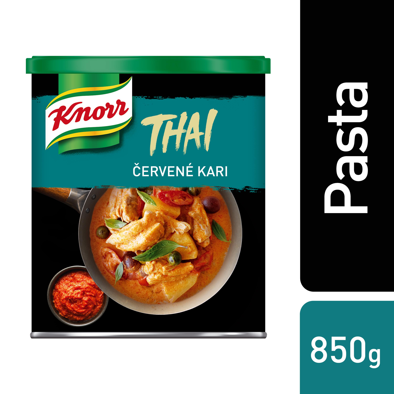 Knorr Červená kari pasta 850 g
