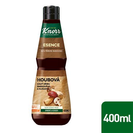 Knorr Professional Houbová esence 0,4 l - Vyrobena z ingrediencí jako hřib smrkový nebo klouzek obecný.
