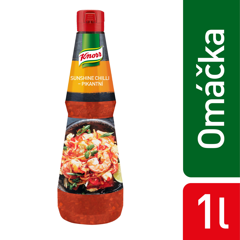 Knorr Sunshine Chilli - Pikantní omáčka 1 l - Řada asijských omáček Knorr - jednoduchá cesta pro přípravu chutných orientálních pokrmů.