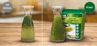 Knorr Zahradní zálivka 700g - Stabilní konzistence i po 3 hodinách.