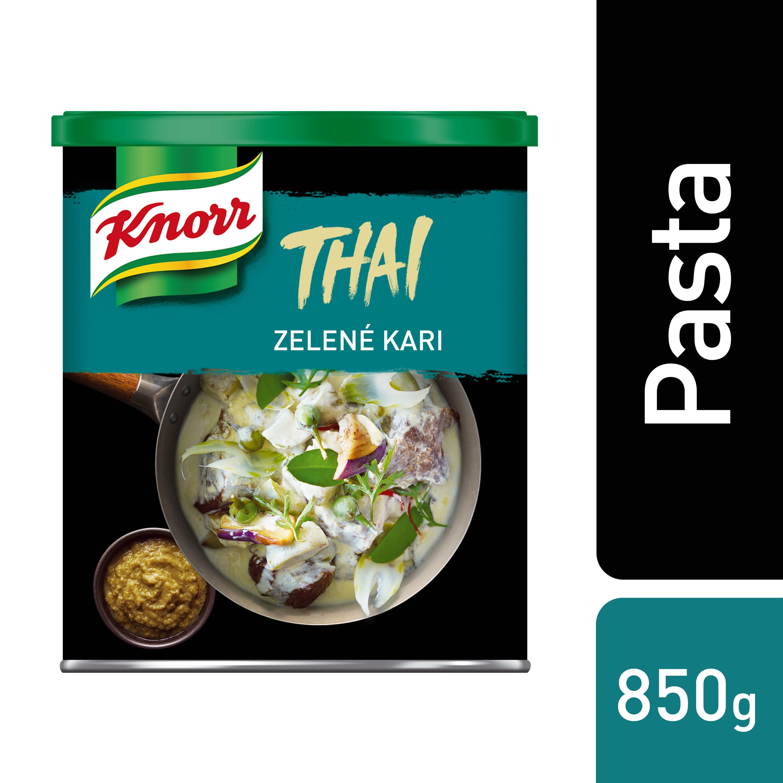Knorr Zelená kari pasta 850 g - Kari pasta z Thajska