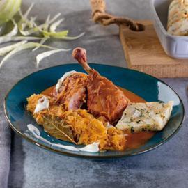 Segedínský guláš z uzeného kuřete