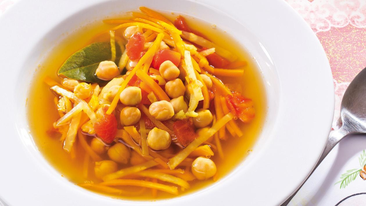 Cizrnová polévka z Bombaje