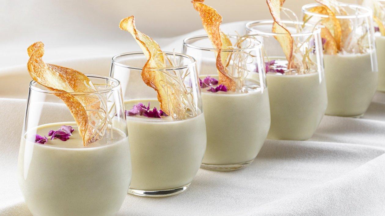 Krémová pórková polévka vichyssoise