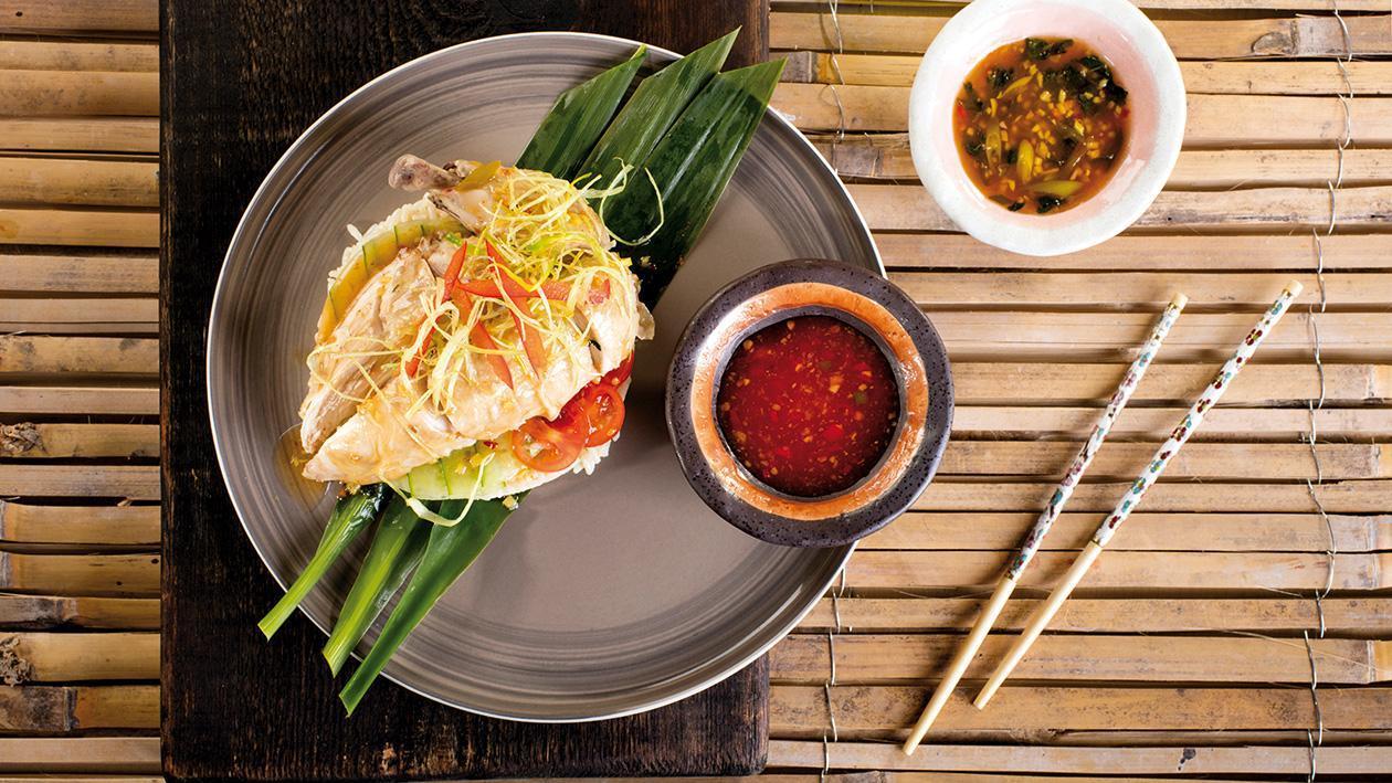 Originální singapurské kuře