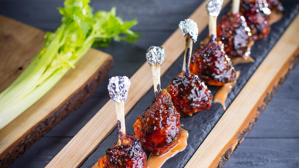 Pečené kuřecí paličky (finger food)