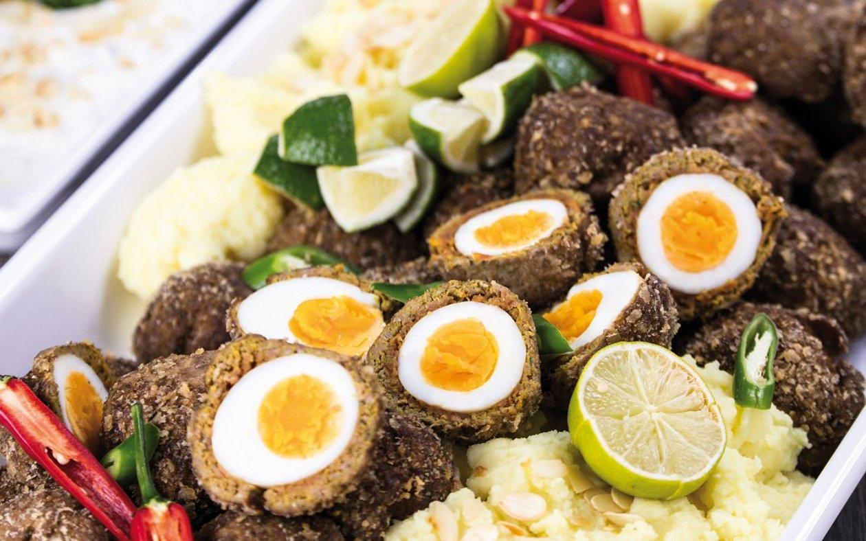 Skotské vejce s jehněčím masem