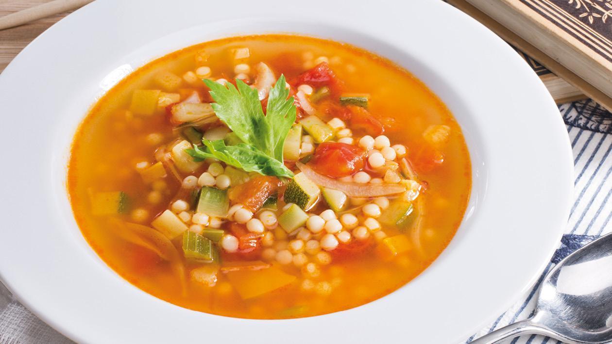 Zeleninová polévka Minestrone