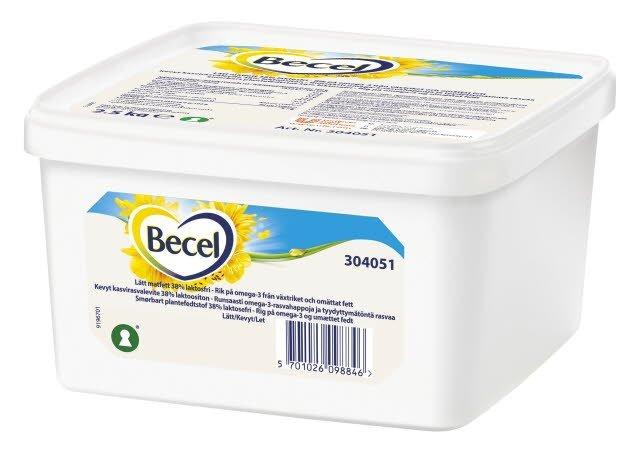 Becel Smørbart fedtstof 38% 2,5 kg