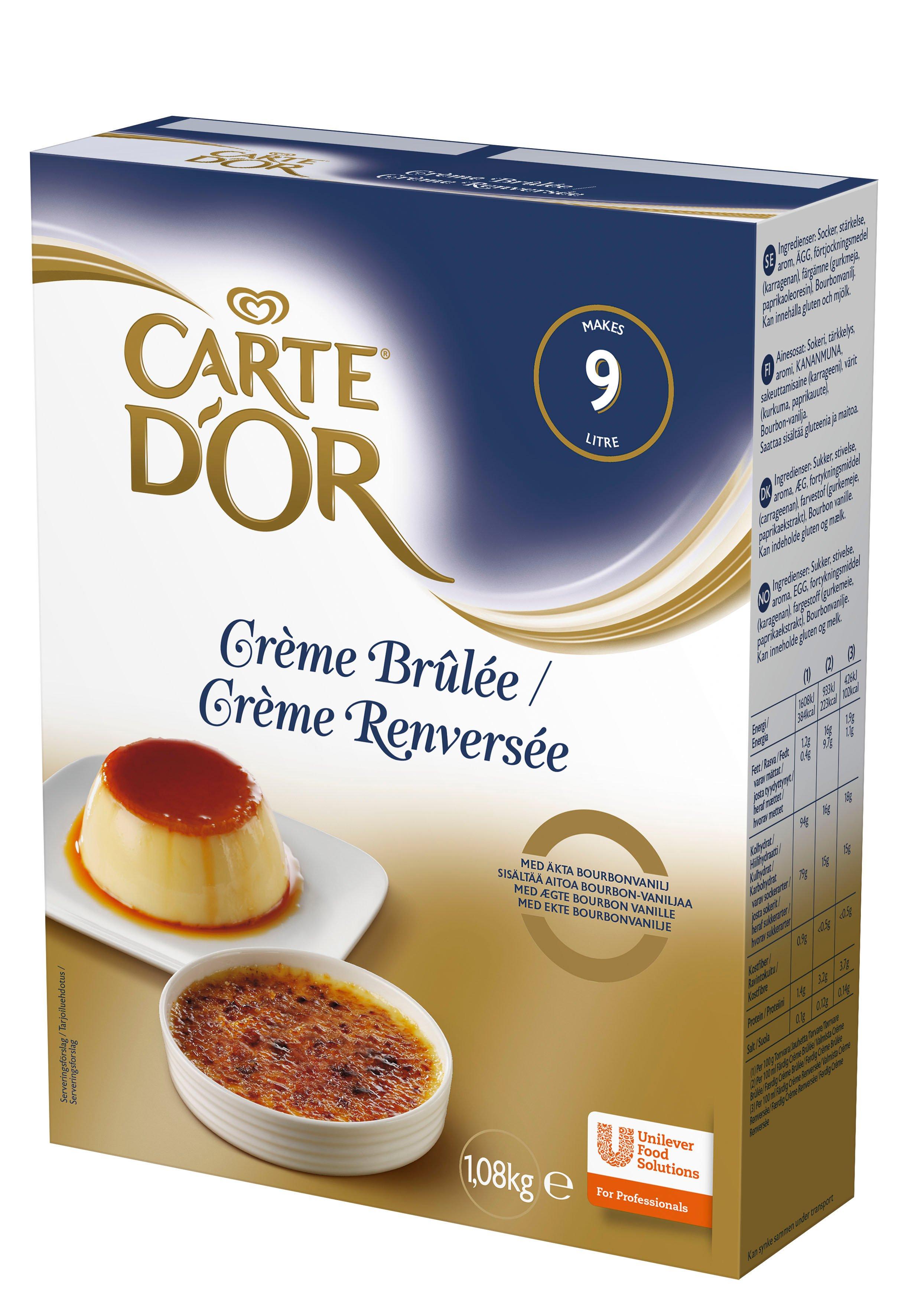 Carte d'Or Creme Brulee/ Creme Renversee