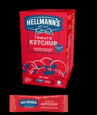 Hellmann's Ketchup Portion Pack, 198x10 ml -