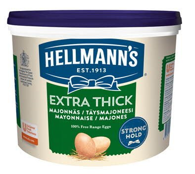 Hellmann´s Extra Thick Mayonnaise 5 kg