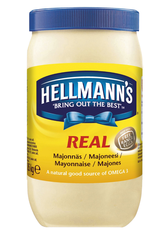 Hellmann´s Real Mayonnaise  1,85 kg / 2 l
