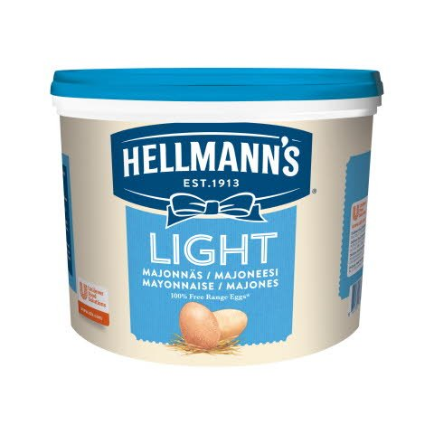 Hellmann´s Real Mayonnaise Light -  5 kg