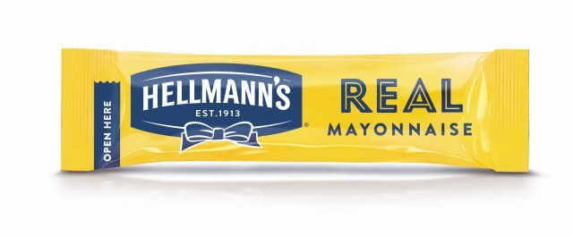 Hellmanns Real Mayonnaise Portionspak 200 x 15 ml